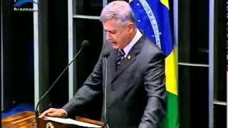 Sen. Rodrigo Rollemberg diz esperar que Senado vote até quarta-feira PEC que acaba com voto secreto