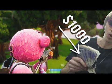FORTNITE 1V1 FOR $1000