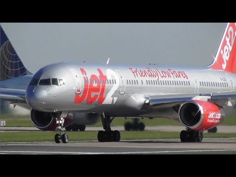 Close up Plane Spotting at Manchester Airport, RW23L Departures! | 14-05-19