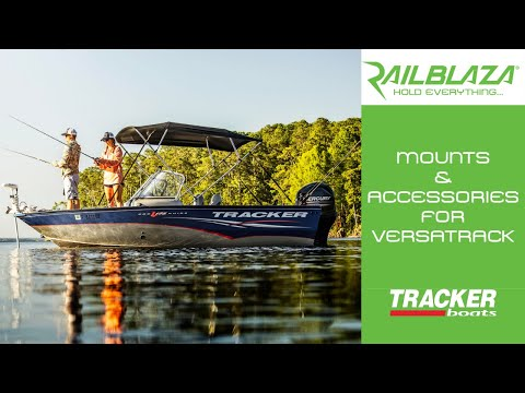 Mounts & Accessories For Tracker Boats Versatrack System
