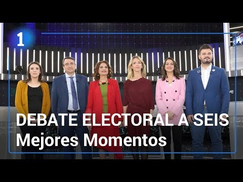 Debate electoral a seis | Mejores momentos | Elecciones generales 2019