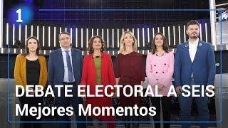 Debate electoral a seis | Mejores momentos | Elecciones gene...