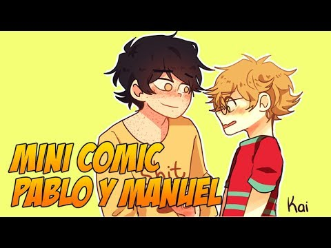 MINI COMIC -  YAOI - PABLO Y MANUEL