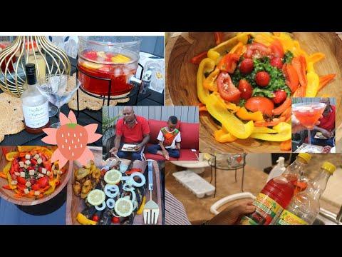 Comment réaliser un cocktail maison et une bonne salade| Vlog Papi et Mamie