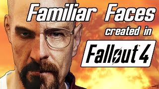 Familiar Faces in Fallout 4 #1 | Will Smith, Walter White and more!