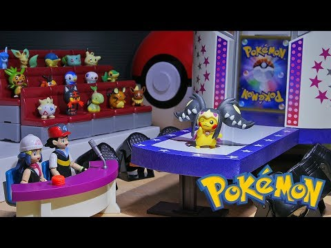 Download Youtube: Pokemon Fashion Show - Pikachu Mega Evolution Poncho Toys