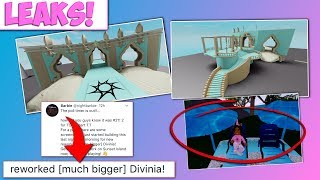 NEW DIVINIA SCREENSHOTS LEAKED! SUNSET ISLAND ALREADY IN DIVINIA?! | ROBLOX ROYALE HIGH LEAKS