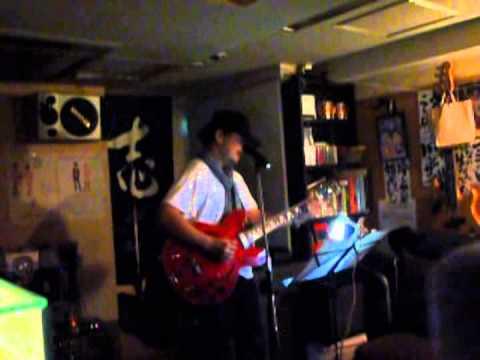 日本のブルース Love Song (上田正樹さん) 小田専太郎俊明 Guitar 三宅伸二郎 20150529