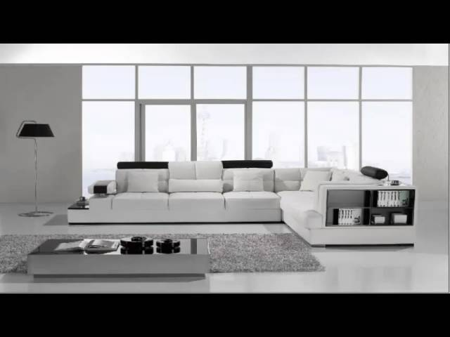 Vig Furniture  Modern White Leather Sectional Sofa REVIEW