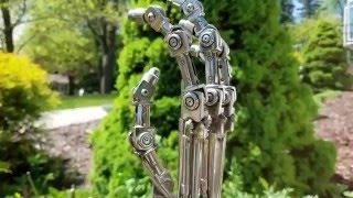 Sideshow Collectibles Terminator 2 Endo Arm Prop Replica Endoskeleton
