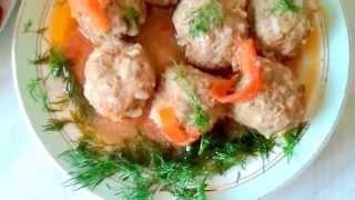 ТЕФТЕЛИ рецепт Ёжики в томатном соусе с рисом Oxana Moscow