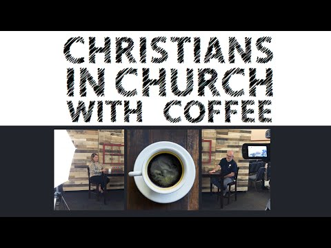 Christians In Church With Coffee #1