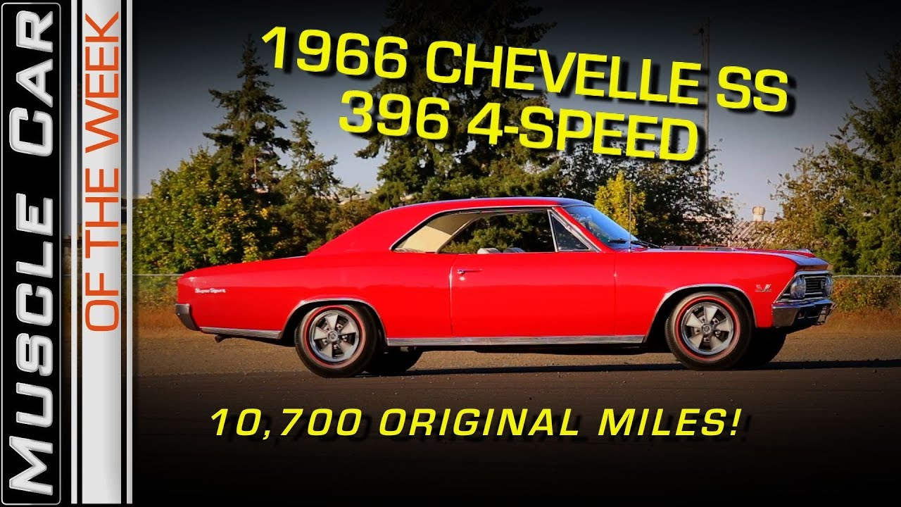 Youtube - 1966 Chevelle SS396 4-Speed Video: Muscle Car Of