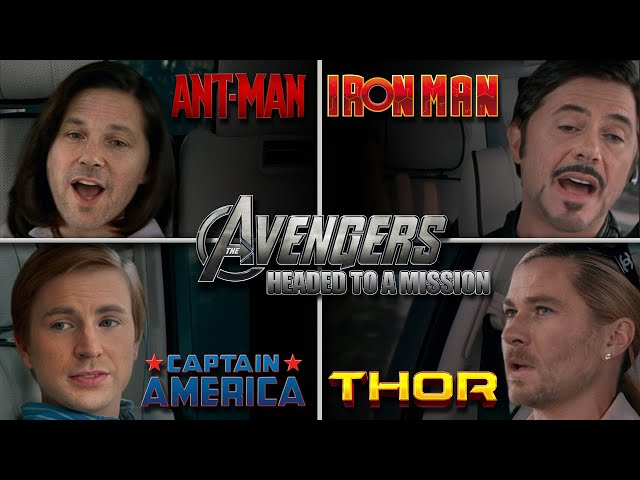 The Avengers Driving To Their Next Mission - Marvel Deepfake