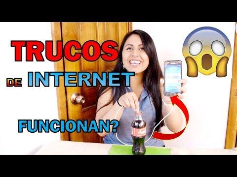 TRUCOS RAROS DE INTERNET, FUNCIONAN? GABY RUIZ