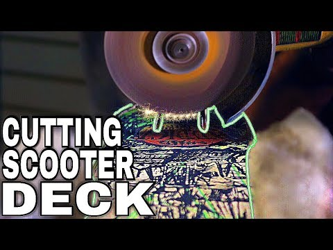 HOW TO CUT YOUR NEW PRO SCOOTER DECK