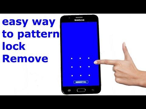 samsung pattern unlock