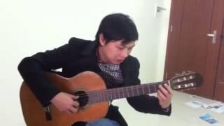 Ngày xưa ơi guitar cover - Redluna