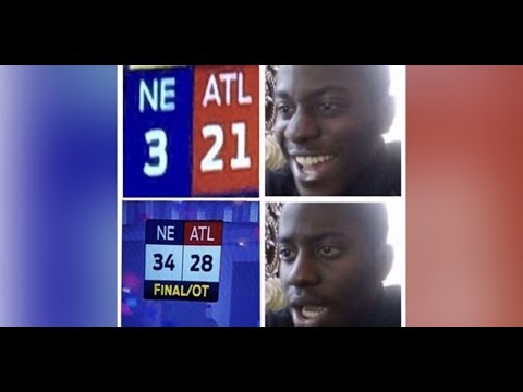 Live Footage of Atlanta Falcons vs Seattle Seahawks 2016 Part 7