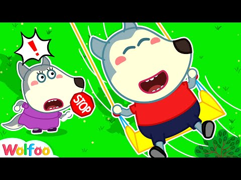 Play Safe at the Playground - Wolfoo Learns Safety Tips for Kids #14 | Wolfoo Channel Kids Cartoon