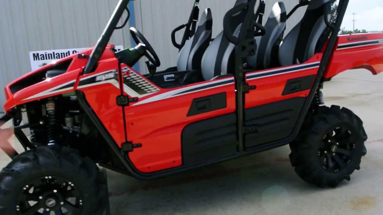 "4 Inch Lift Kit >> 2013 Kawasaki Teryx4 LE with Lift Kit, 28"" Tire and 14"" Wheels, ProBox Stereo Top, Bed Lift ..."