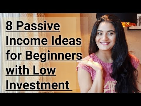 8 Passive Income Ideas for Beginners with Low Investment in 2019 India In Hindi