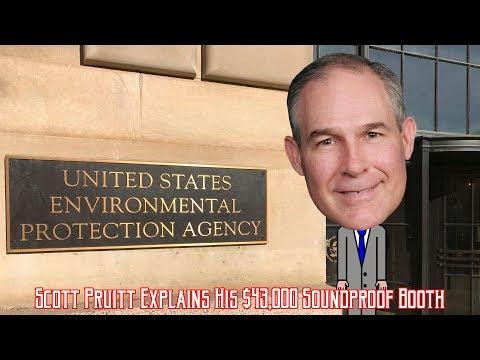 EPA's Scott Pruitt Explains Spending $43,000 On A Soundproof Booth