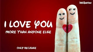 I LOVE YOU // New Love Quotes 2019 // Whatsapp status 2019