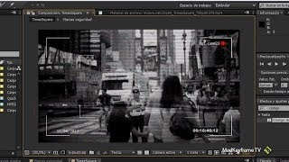 Efecto cámara de seguridad o monitor crt en After Effects Thumbnail