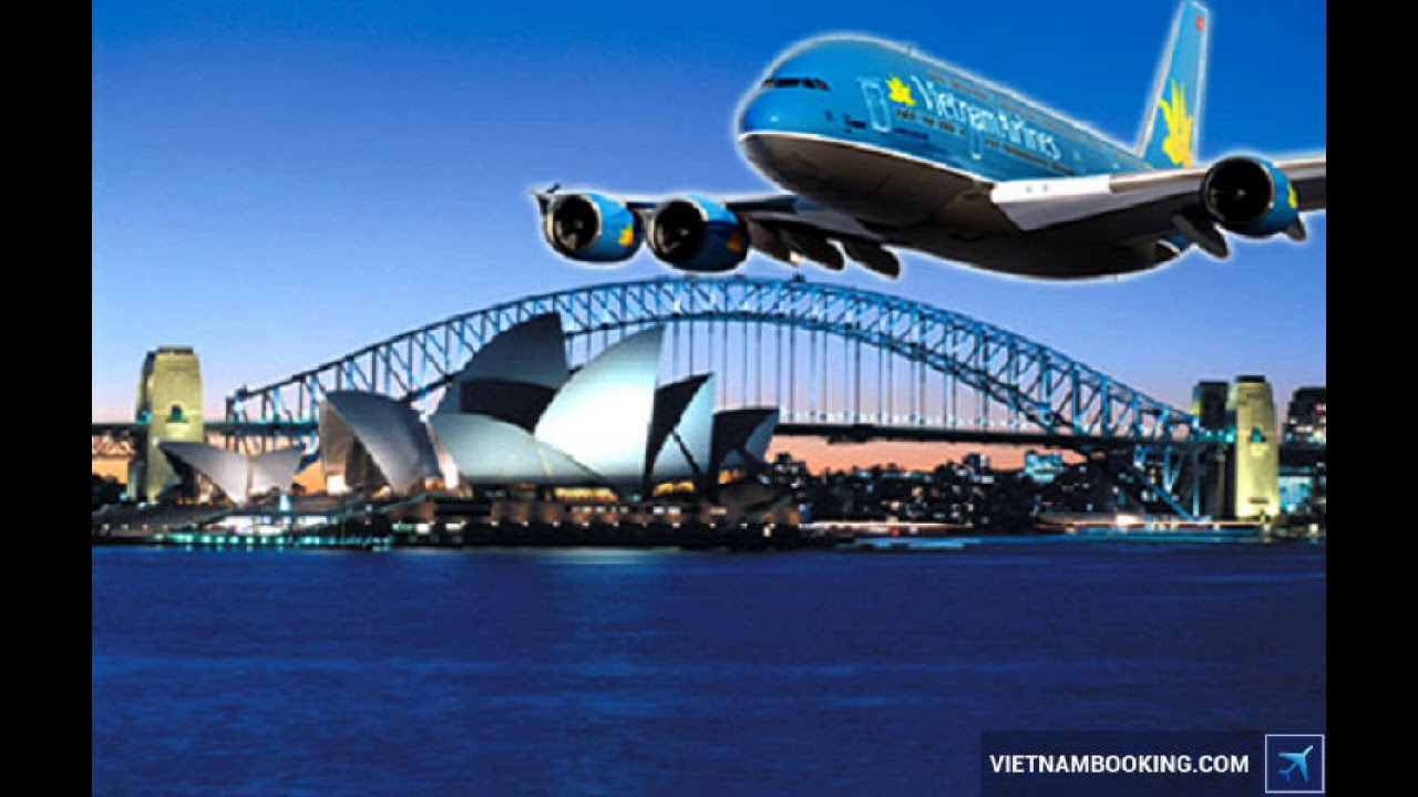 Giá vé máy bay Vietnam Airlines đi Úc rẻ - Đặt vé bên dưới