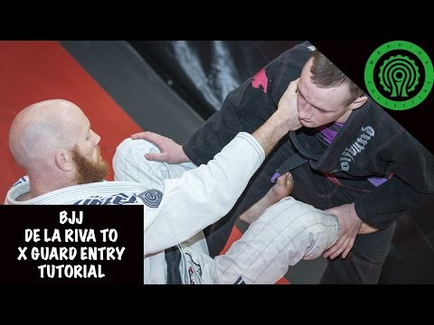BJJ De La Riva to X-Guard entry Tutorial