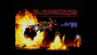 Gameplay Ps1 - Slamscape PAL (1996)