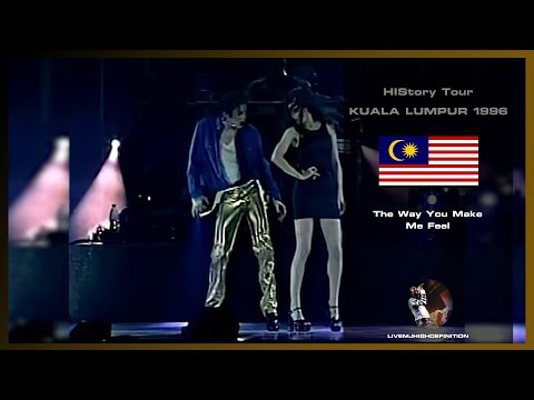 Michael Jackson - The Way You Make Me Feel - Live Kuala Lumpur 1996 - HD