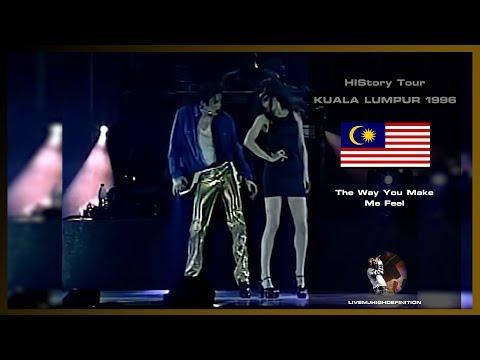 Michael Jackson - The Way You Make Me Feel - Live Kuala Lumpur 1996 - HD