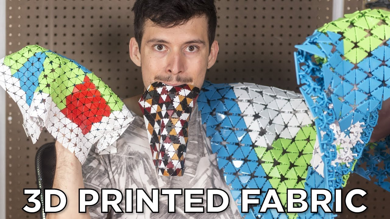 36b2c92dc45 Experimenting with 3D Printed Fabric - YouTube