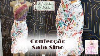 DIY – Confecção Saia Sino – Curso de Corte e Costura – Passo a Passo