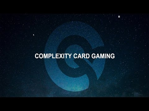 Complexity Card Gaming 2017 Schedule And Plans; Amsterdam Final December 2016 With Norman Wilde!