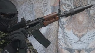(Airsoft) AKS74UN WE Custom