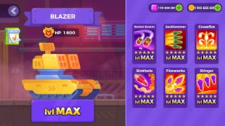 Tank Stars v1.1 Gameplay | BLAZER UNLOCKED