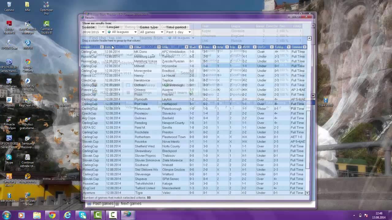 Tutorial Soccer Stats Tracker