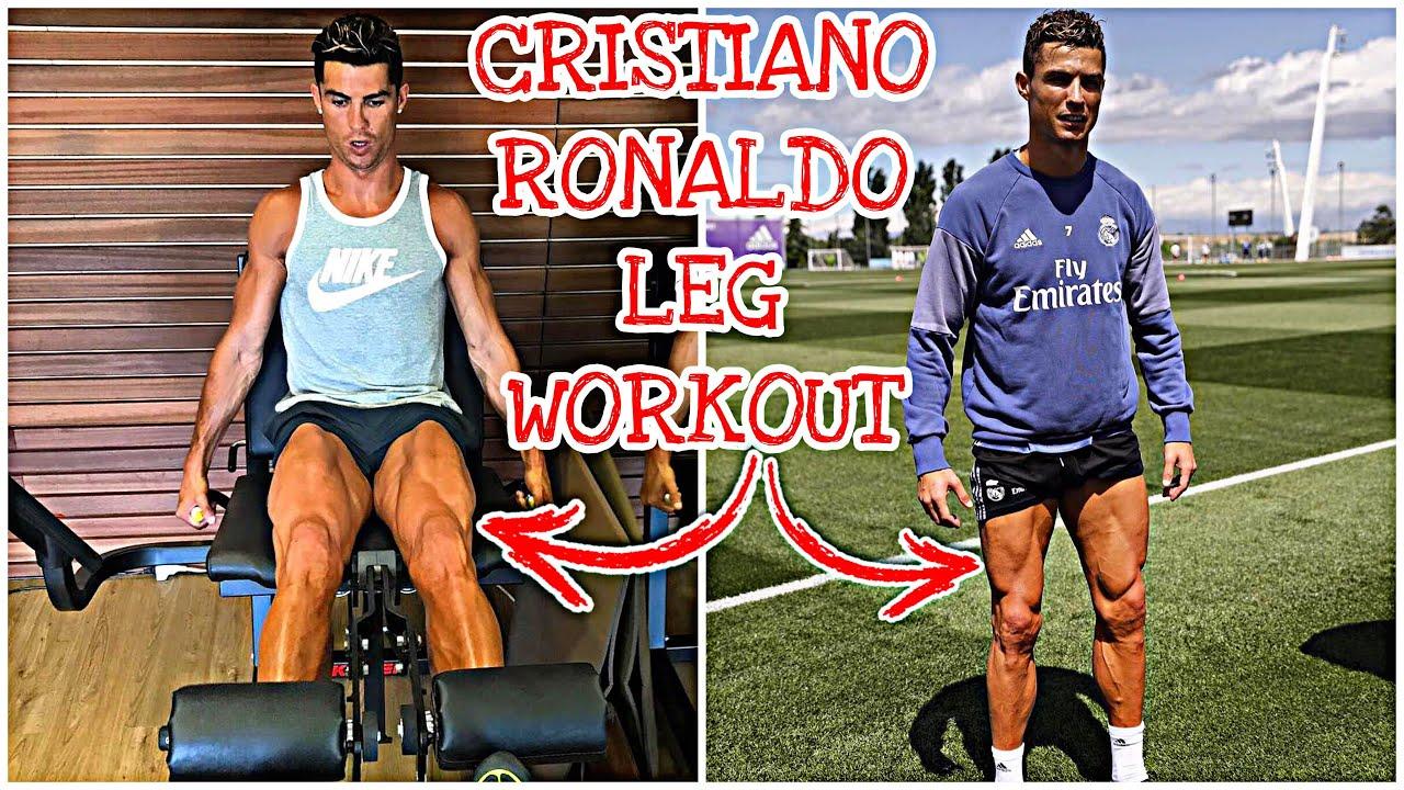 Cristiano Ronaldo Leg Workout How To Build Huge Leg Muscles Youtube