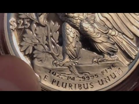 2018 Palladium Proof Eagle Unboxing!