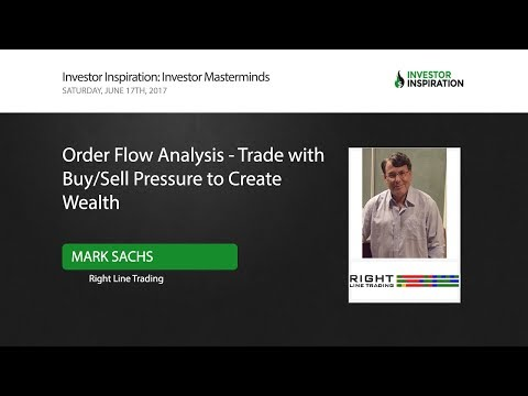 Order Flow Analytics - Trade with Buy/Sell pressure to Create Wealth | Mark Sachs