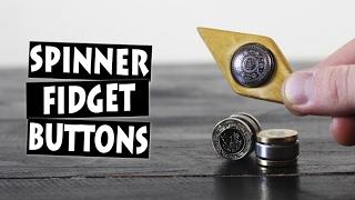 DIY Hand Spinner Fidget Toy Finger Buttons thumbnail