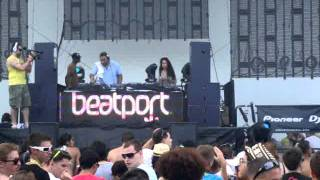 "Harry ""Choo Choo"" Romero @ MMW 2011 Beatport Party"