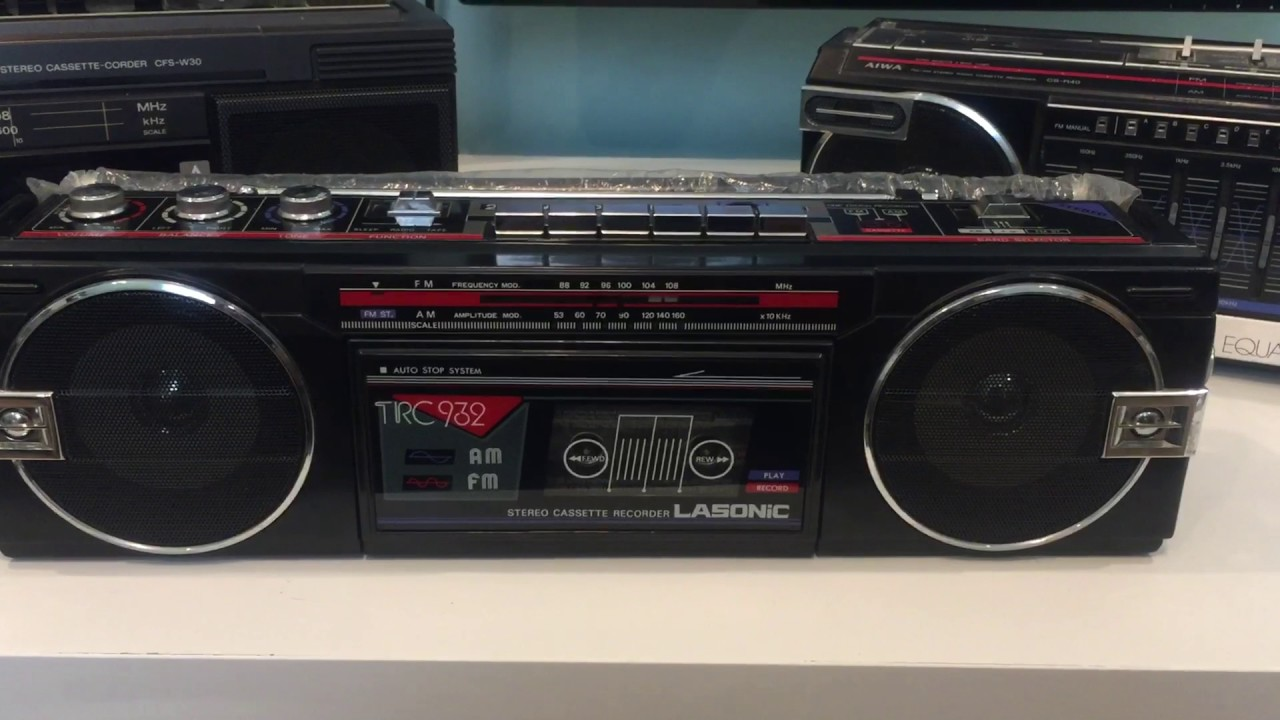 Turn your 80s boombox into a Bluetooth speaker EASY - SIMPLETHINGSTOYS