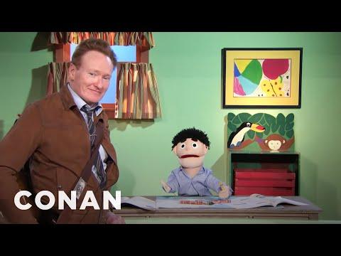 Scraps: Caleb The Puppet - CONAN on TBS