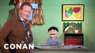 Scraps: Caleb The Puppet - CONAN on TBS