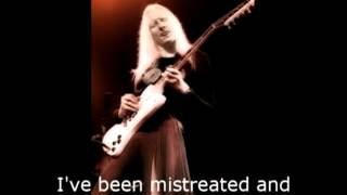 Johnny Winter Leaving blues Lyrics