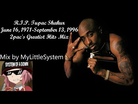 2pac Greatest Hits Mix (720p) HQ